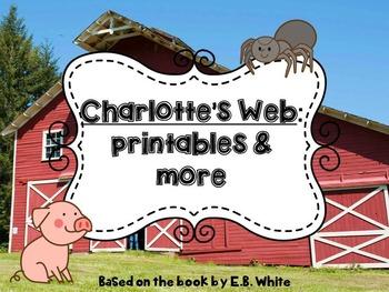 Charlotte's Web: Printables & More