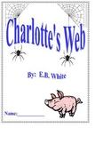 Charlotte's Web Reading Response / Literature Circle Packet
