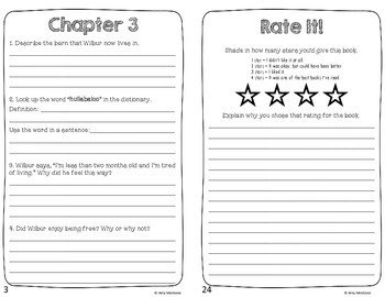 Charlotte's Web Response Journal