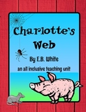 Charlotte's Web Teach the Common Core Teaching and Assessment Combo!
