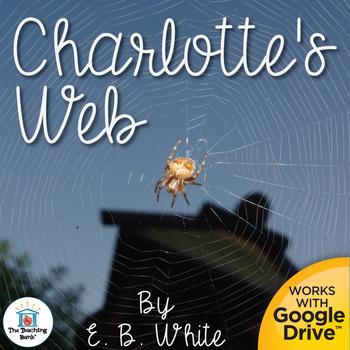 charlottes web novel study book unit