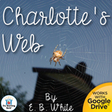 Charlotte's Web Novel Study Book Unit Distance Learning