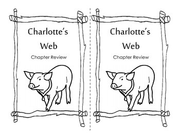 Charlotte's Web Unit Study Preview