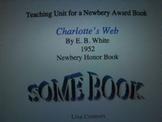 Charlotte's Web Unit for 4th grade