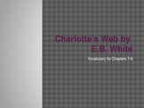 Charlotte's Web Vocabulary 7-9