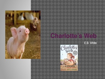 Charlotte's Web Vocabulary Chapters 1-3