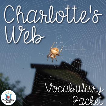 Charlotte's Web Vocabulary Packet