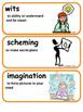 ReadyGen Charlotte's Web Vocabulary / 2nd grade, Unit 1, module A