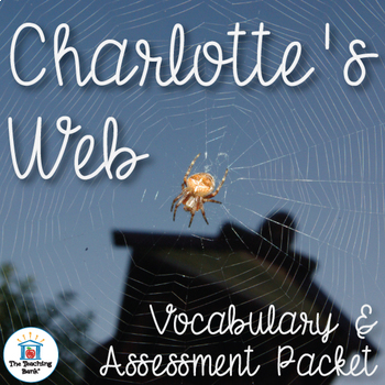 Charlotte's Web Vocabulary and Assessment Bundle