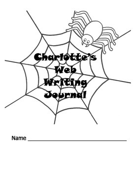 Charlotte's Web Writing Journal / Vocabulary Words Crossword Puzzles