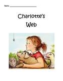 Charlotte's Web Writing Response Packet