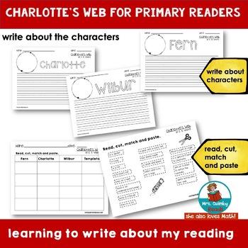 Charlotte's Web for Primary Readers - Grades K-1- Homeschoolers