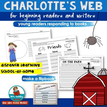 Charlotte's Web for Primary Readers | Book Companion | Writing Prompts
