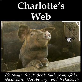 Charlotte's Web - Book Club