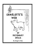 Charlotte's Web of Dictionary Skills
