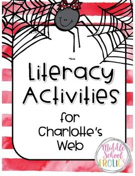 Charlotte's Web of Literacy Activities