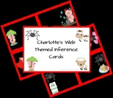 Charlotte's Web themed Inference Cards