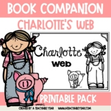Charlotte's Web Worksheets and Activities for ESL and Primary Students