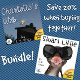 Charlotte's Web and Stuart Little Novel Study Unit Bundle