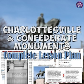 Charlottesville and Confederate Monuments Lesson plan