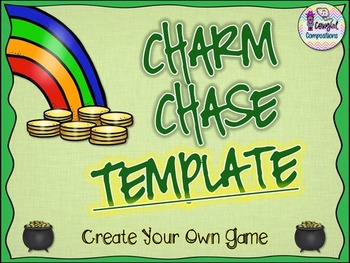 Charm Chase Template  - Create Your Own Game