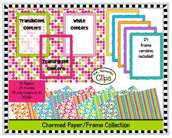 Charmed Paper/Frame Collection