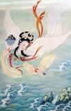 Charming Chinese Folktale: Jingwei Fills the Sea