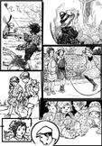 Charming Clip Art -- Children, family, friends, students, retro black & white