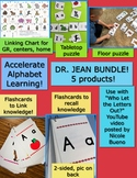 Chart, Flashcards & Puzzles Bundle to use w/ Dr. Jean's Wh