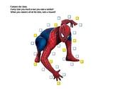 Chart-Moves Visual Behavior Chart - Spiderman