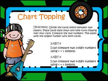 Chart Topping! (compare numbers)