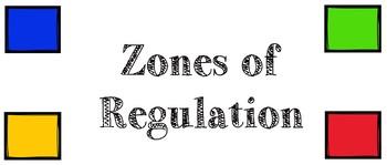 Chart for Zones of Regulation