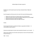 Charter of Rights and Freedoms Research Assignment
