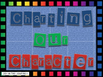 Charting Our Character Traits FREEBIE