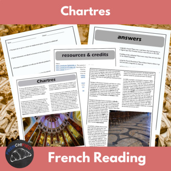 Chartres Cathedral - reading for int/adv French learners