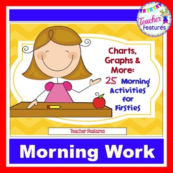 First Grade Math Centers and Morning Activities