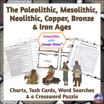The Paleolithic, Mesolithic, Neolithic, Copper, Bronze & Iron Ages