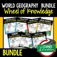 Charts and Graphs Activity, Wheel of Knowledge (Interactive Notebook)