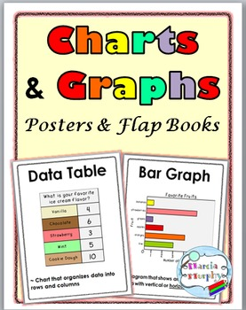 Charts and Graphs Posters and Interactive Flap Books