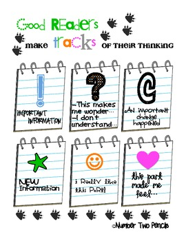 Charts and Parts: Good Readers Track Their Thinking