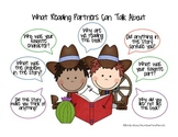 Charts and Parts: What Reading Partners Can Talk About {boys}