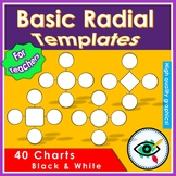 Radial chart templates
