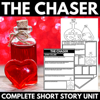 The Chaser by John Collier Short Story Unit with Questions and Poster Project