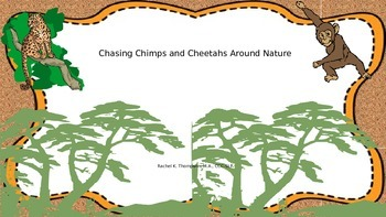 "Chasing Chimps ""CH"" Board Game"