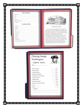 Chasing George Washington Book Report and Lapbook