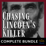 Chasing Lincoln's Killer Common Core Reading Companion Lessons, Questions