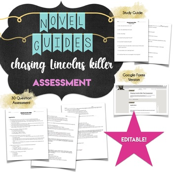 Chasing Lincoln's Killer Assessment *Final Test*