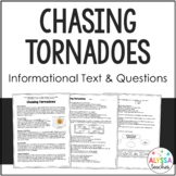 Chasing Tornadoes (Storm Chasers) Reading and Questions