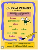 CHASING VERMEER Novel Unit Common Core Aligned