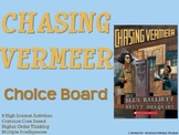 Chasing Vermeer Choice Board Novel Study Activities Menu B